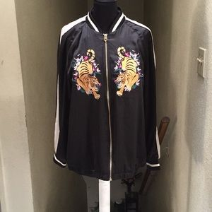 H&M Embroidered Track Jacket
